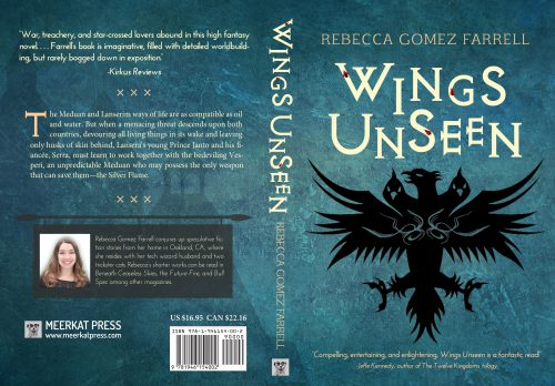 wings unseen rebecca gomez farrell meerkat press book jacket